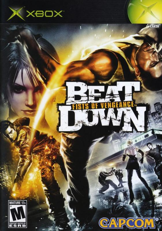 Beat Down Fists of Vengeance - Xbox