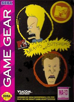 Beavis and Butt-head - Sega Game Gear