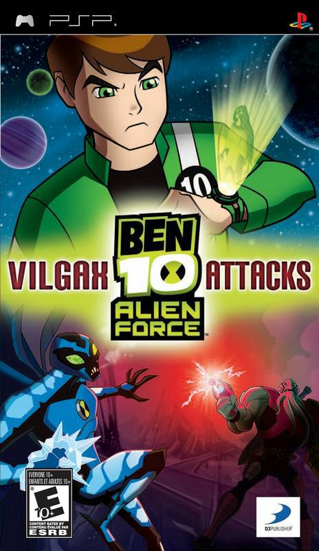 Ben 10 Alien Force Vilgax Attacks - PlayStation Portable