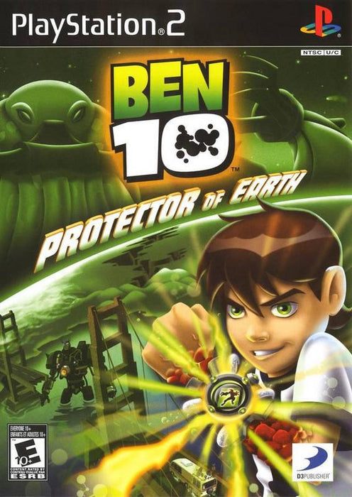 Ben 10 Protector Of The Earth - PlayStation 2