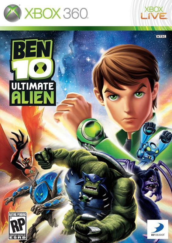 Ben 10 Ultimate Alien Cosmic Destruction