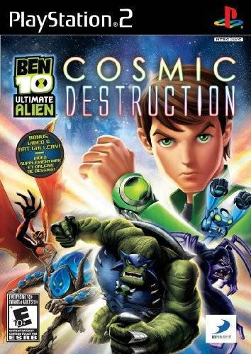 Ben 10 Ultimate Alien Cosmic Destruction - PlayStation 2