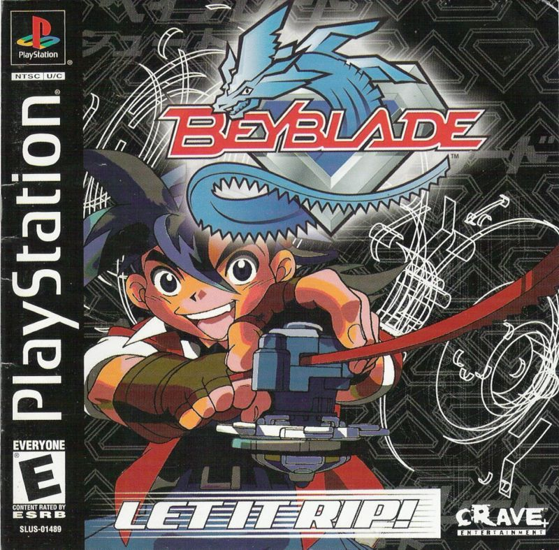 Beyblade Let it Rip! - PlayStation 1
