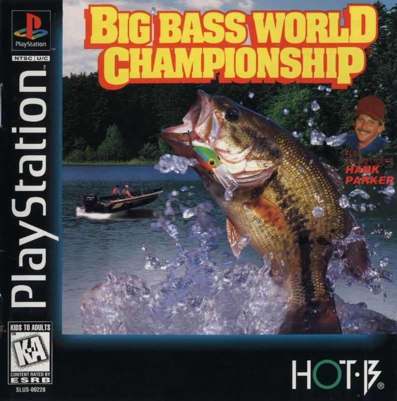 Big Bass World Championship - PlayStation 1