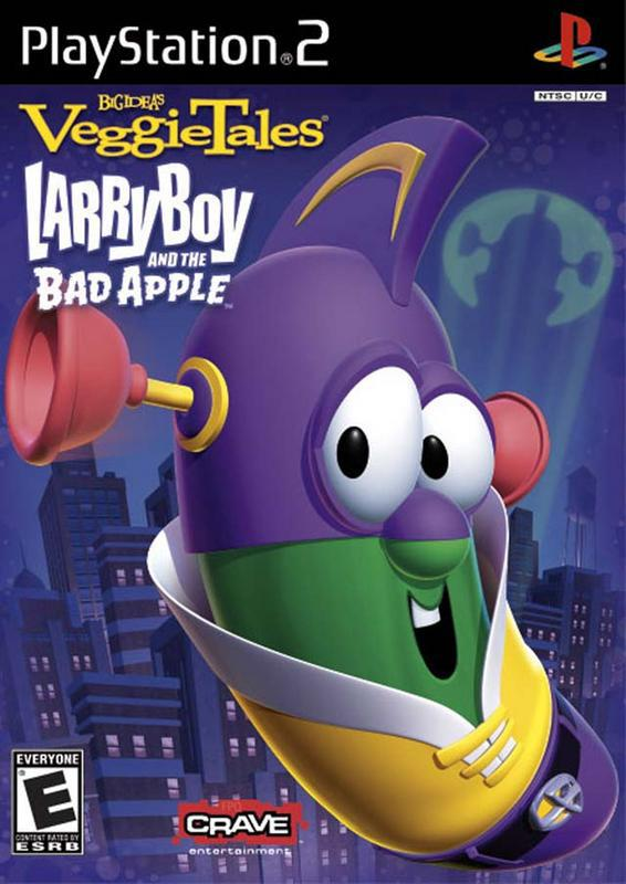 Veggietales LarryBoy and the Bad Apple - PlayStation 2