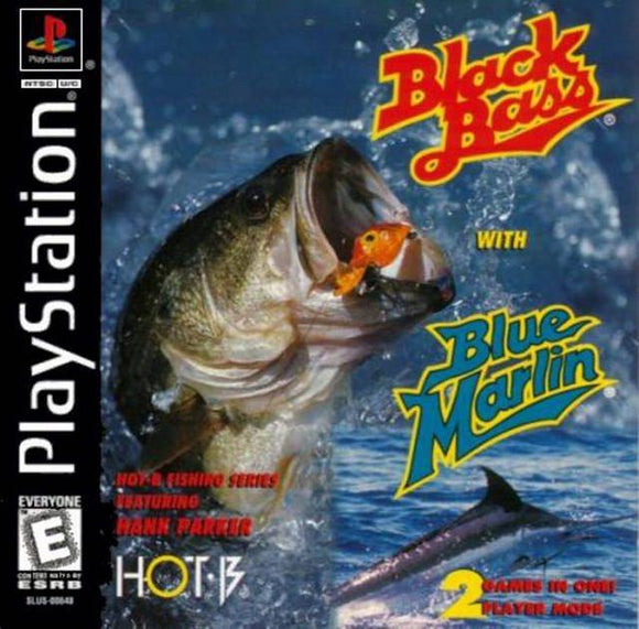 Black Bass with Blue Marlin