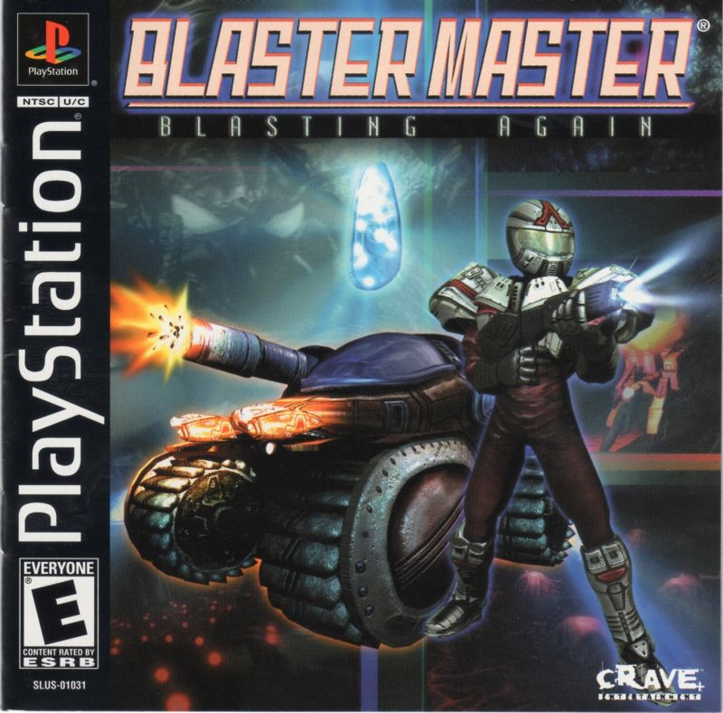 Blaster Master Blasting Again - PlayStation 1