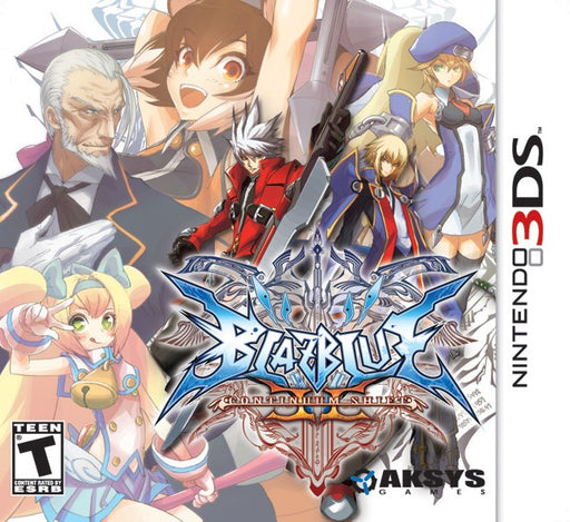 BlazBlue Continuum Shift II - Nintendo 3DS