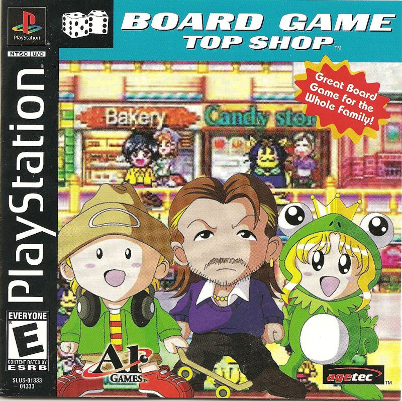Board Game Top Shop - PlayStation 1