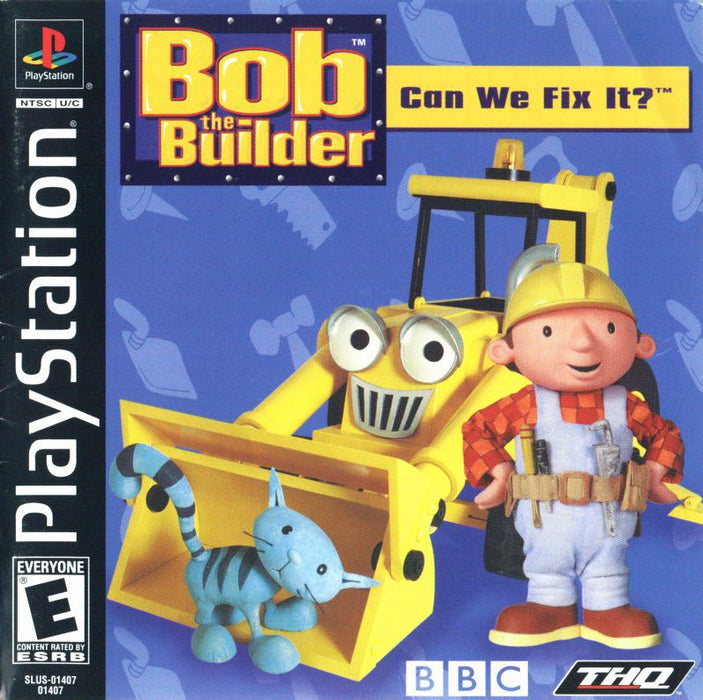 Bob the Builder Can We Fix It? - PlayStation 1