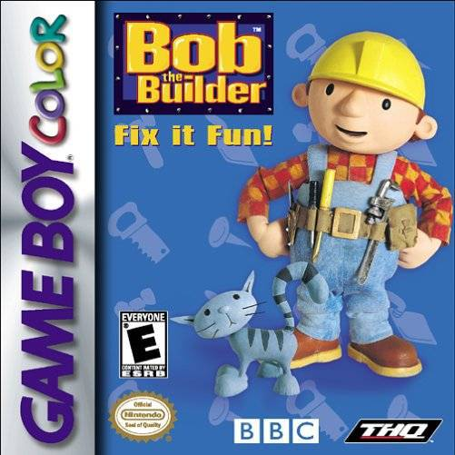 Bob the Builder Fix it Fun! - Game Boy Color