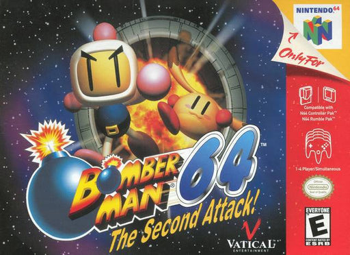 Bomberman 64 The Second Attack! - Nintendo 64
