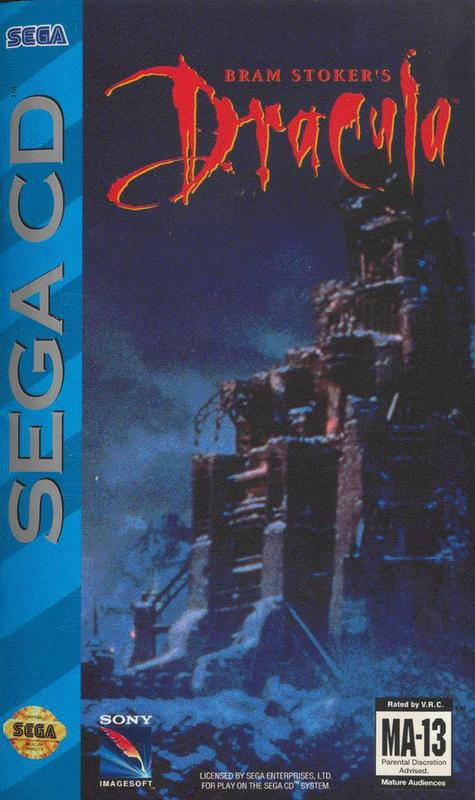 Bram Stokers Dracula - Sega CD