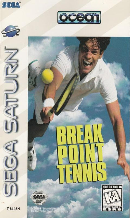 Break Point Tennis - Sega Saturn