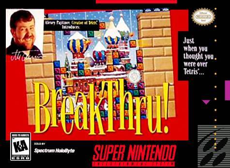 BreakThru! - Super Nintendo Entertainment System