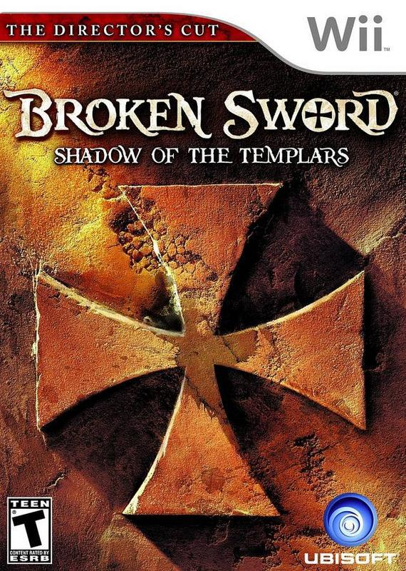 Broken Sword The Shadow of the Templars – Directors Cut - Wii
