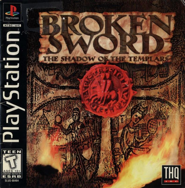 Broken Sword The Shadow of the Templars - PlayStation 1
