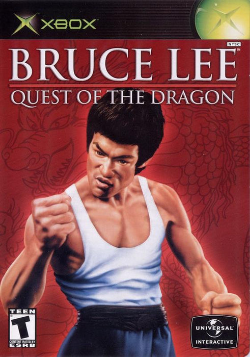 Bruce Lee Quest of the Dragon - Xbox
