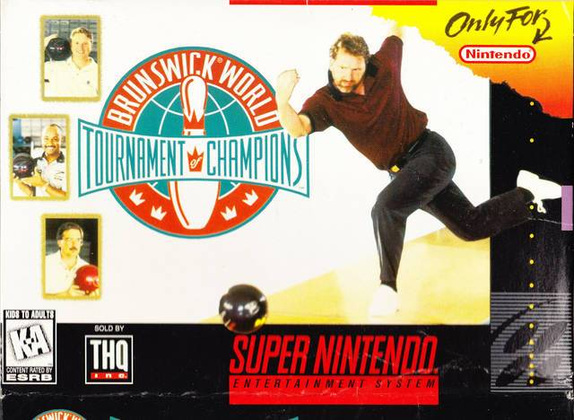 Brunswick World Tournament of Champions - Super Nintendo Entertainment System