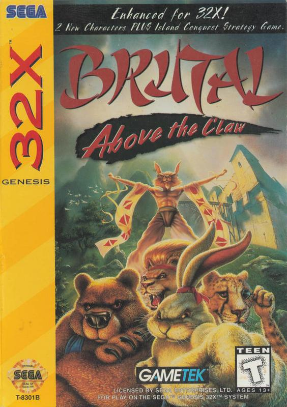 Brutal Above the Claw - Sega 32X