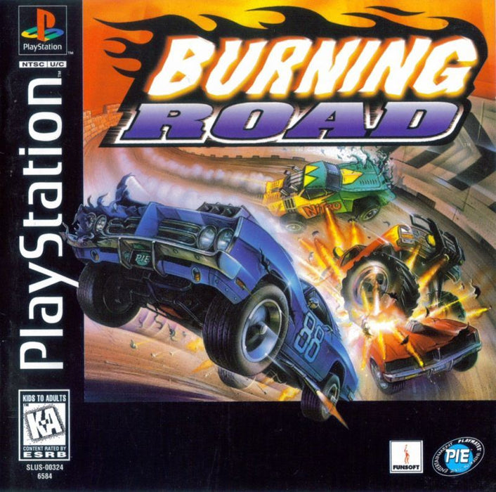 Burning Road - PlayStation 1