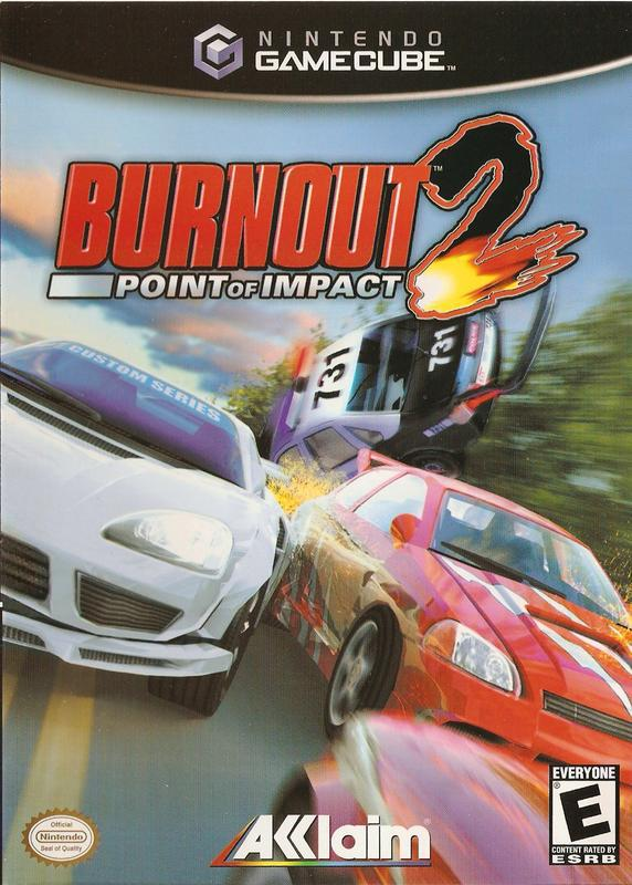 Burnout 2 Point of Impact - Gamecube