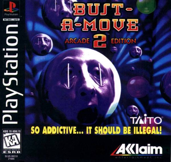 Bust-A-Move 2 Arcade Edition - PlayStation 1