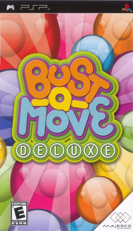 Bust-A-Move Deluxe - PlayStation Portable