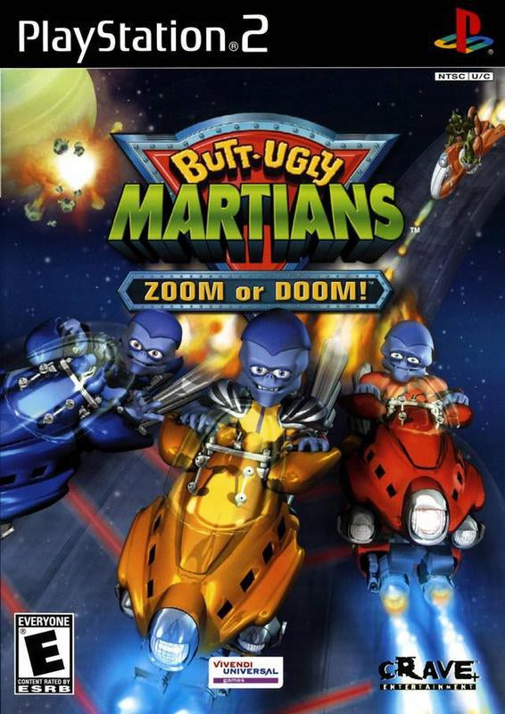 Butt-Ugly Martians Zoom or Doom - PlayStation 2
