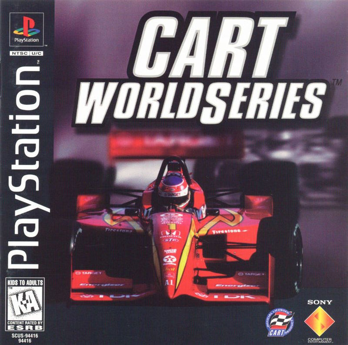 CART World Series - PlayStation 1