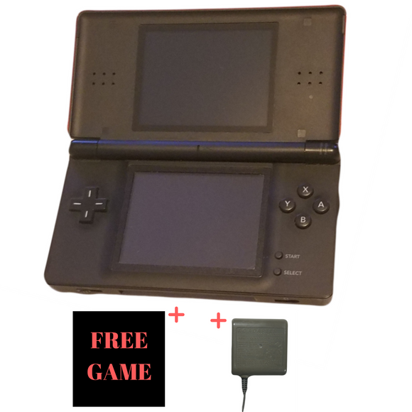 Nintendo DS Lite – Crimson Black