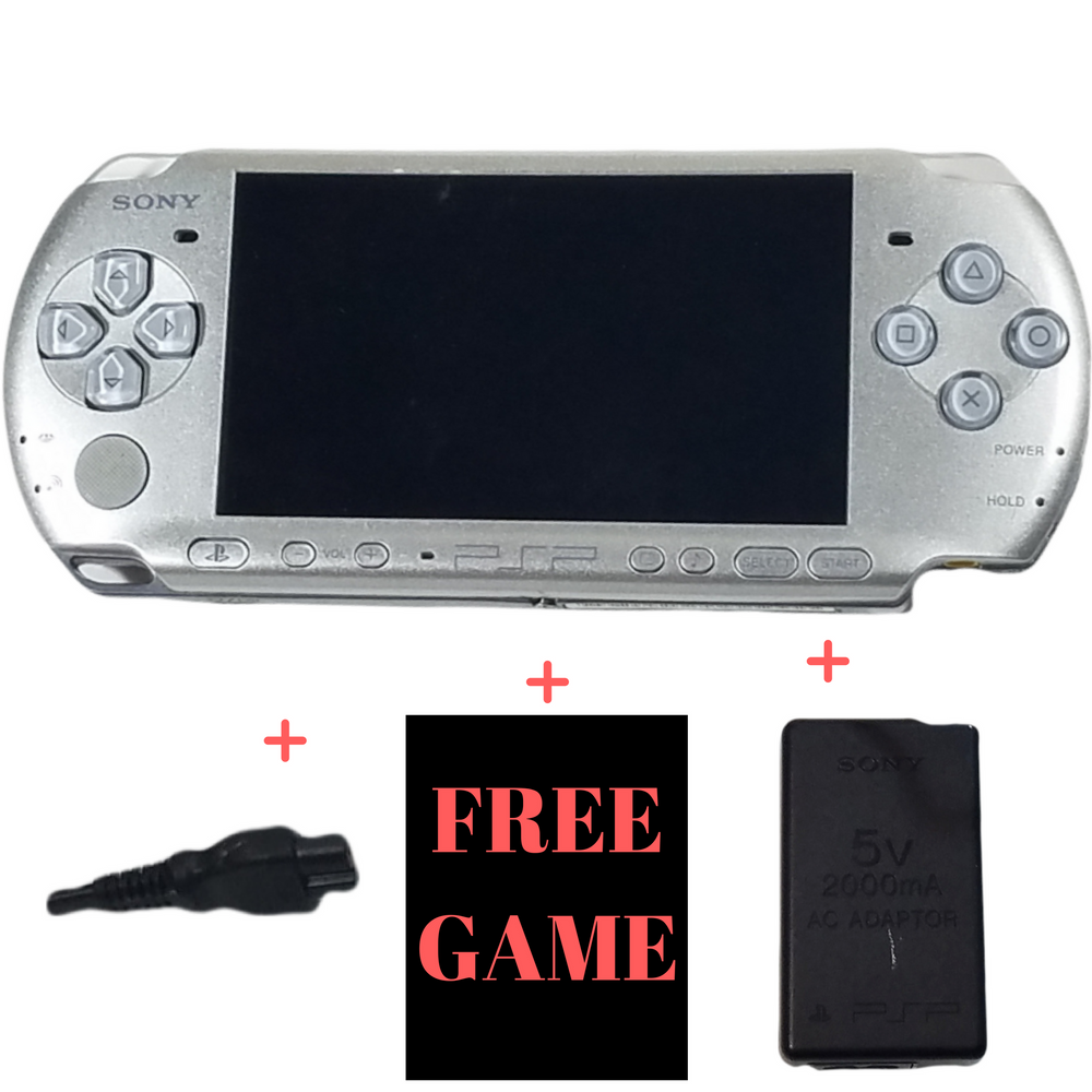 Sony PSP PlayStation Portable Console System 3001 – Mystic Silver