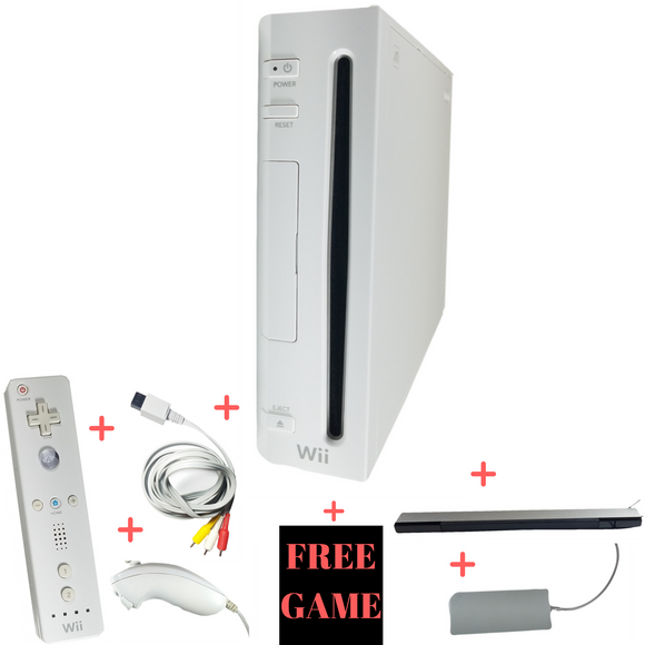 Nintendo Wii Console – Backwards Compatible With Gamecube – White