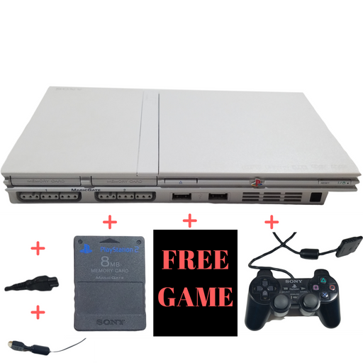 Sony PlayStation 2 Slim Console System – Ceramic White