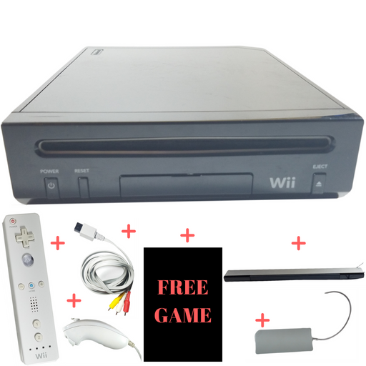 Nintendo Wii Console System – Black