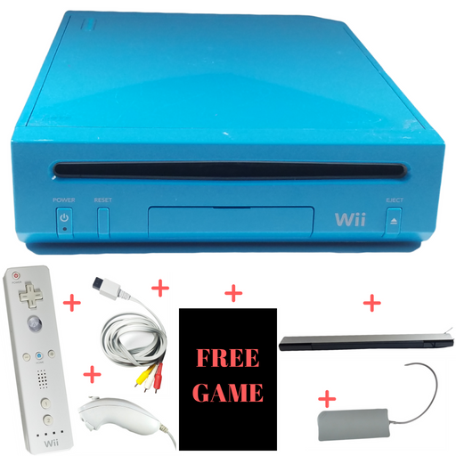 Nintendo Wii Limited Edition Console System – Electric Blue