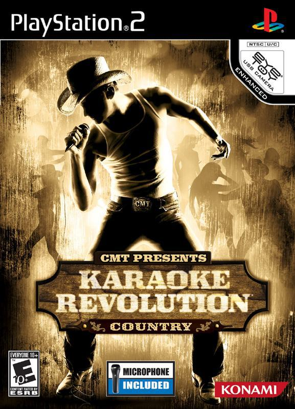 CMT Presents Karaoke Revolution Country - PlayStation 2
