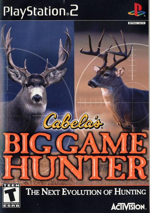 Cabelas Big Game Hunter 2002 - PlayStation 2
