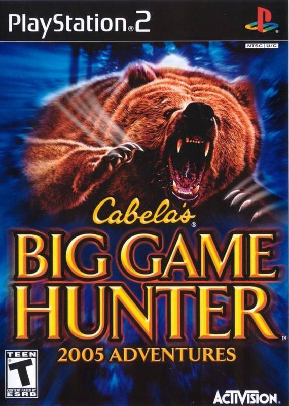 Cabelas Big Game Hunter 2005 Adventures - PlayStation 2