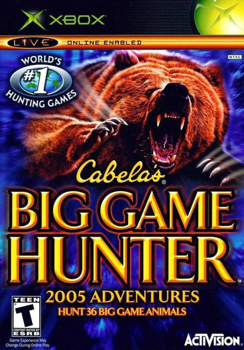 Cabelas Big Game Hunter 2005 Adventures - Xbox