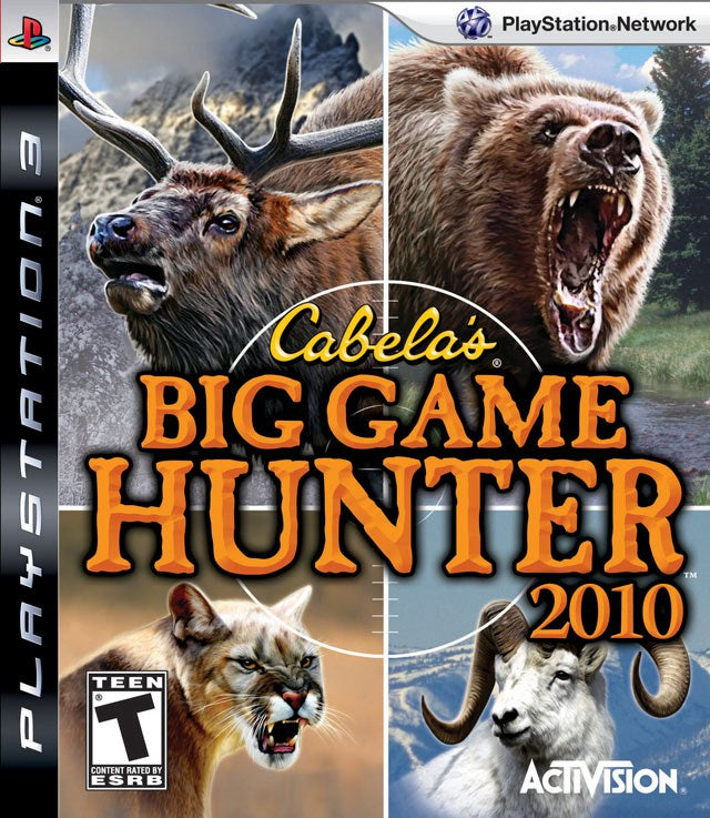 Cabelas Big Game Hunter 2010 - PlayStation 3