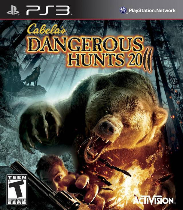 Cabelas Dangerous Hunts 2011 - PlayStation 3