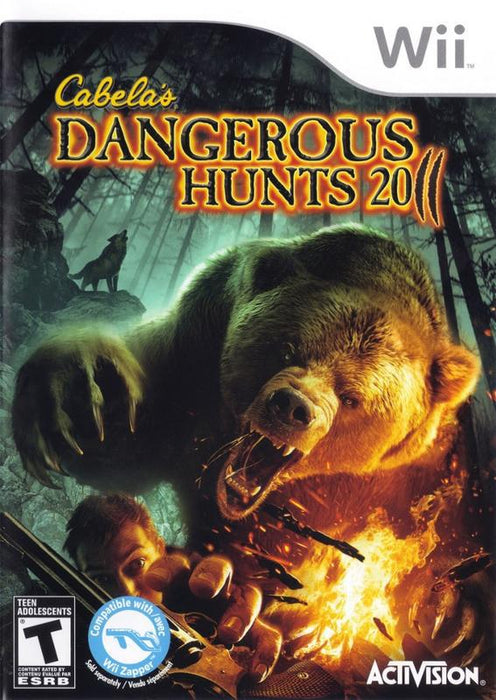 Cabelas Dangerous Hunts 2011 - Wii