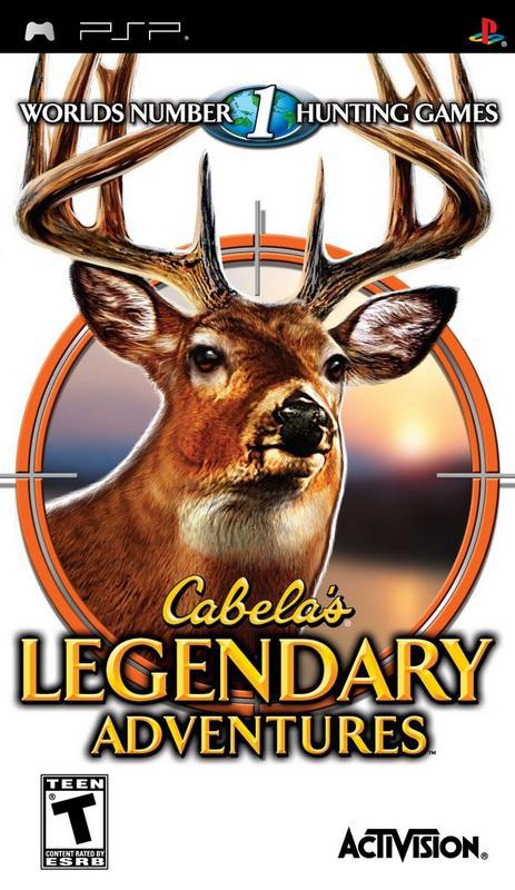 Cabelas Legendary Adventures - PlayStation Portable