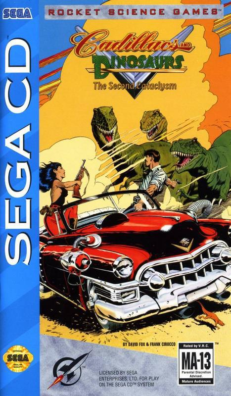 Cadillacs and Dinosaurs The Second Cataclysm - Sega CD
