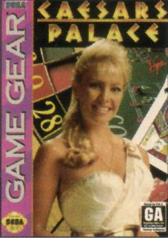 Caesars Palace - Sega Game Gear