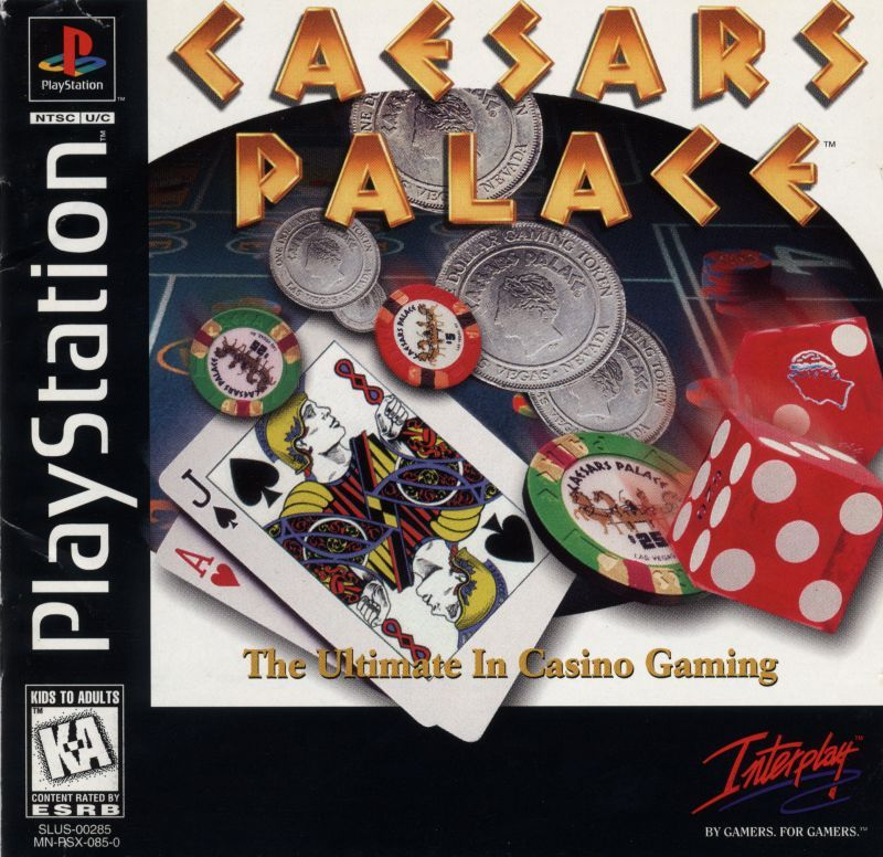 Caesars Palace - PlayStation 1
