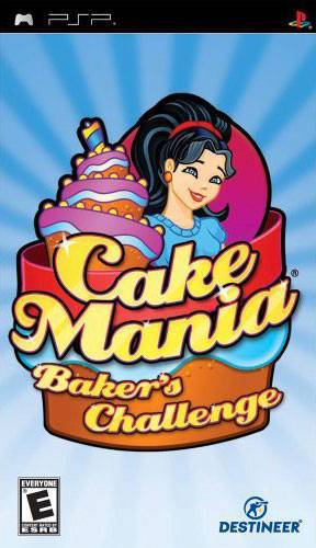 Cake Mania Bakers Challenge - PlayStation Portable