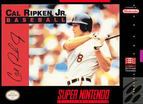 Cal Ripken Jr. Baseball - Super Nintendo Entertainment System