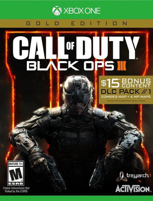 Call of Duty Black Ops III - Gold Edition
